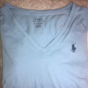 Baby Blue POLO T-shirt